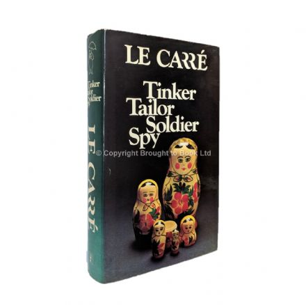 Tinker Tailor Soldier Spy Signed by John le Carré First Edition Second Impression Hodder & Stoughton